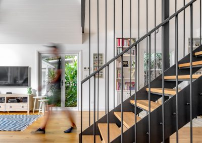 Riverside House Steel Staircase